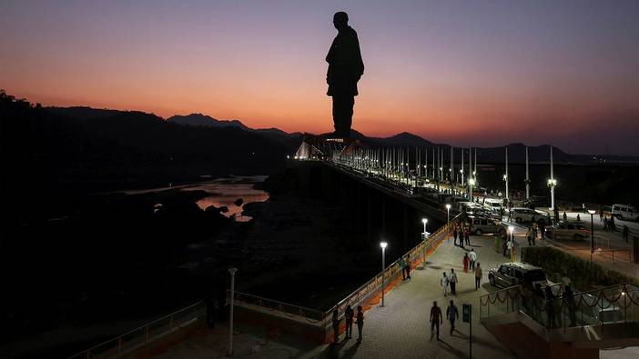 "The ""Statue of Unity"" in India"