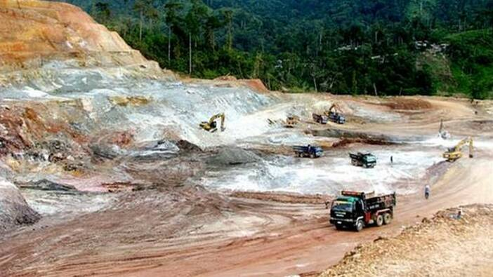 Canatuan Copper Mine, Zamboanga del Norte province on the island of Mindanao/Philippines