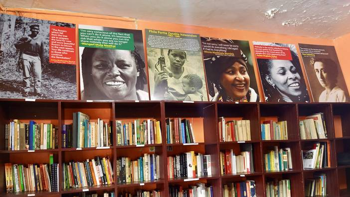 Kenya's First Socialist Library