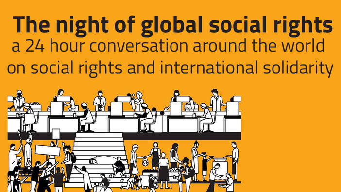16–17 April: The Night of Global Social Rights