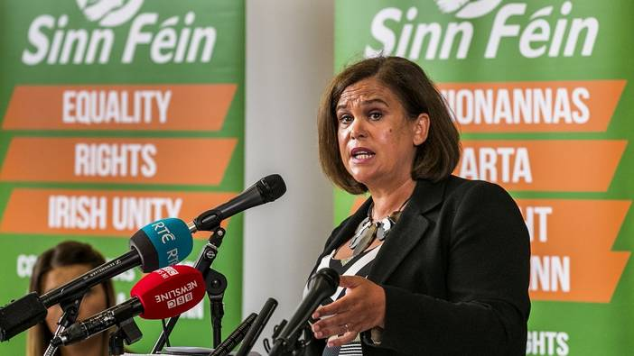 Sinn Féin will work for Irish Unity
