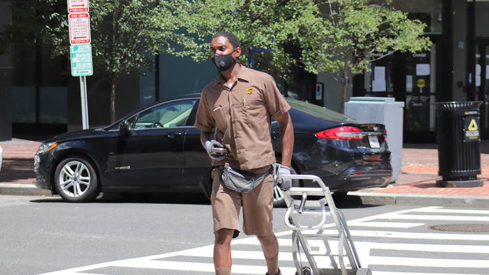 UPS DELIVERER Project / COVID-19 Essential Workers Series