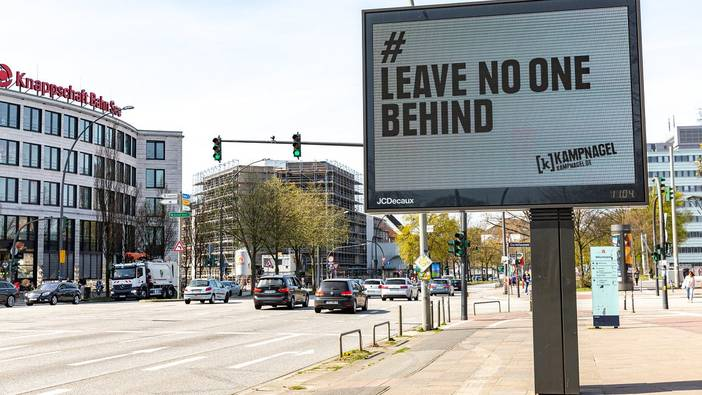 # leave no one behind, Hamburg