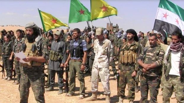 YPG/YPJ and FSA form Joint Operations Command (Rojava 2014)