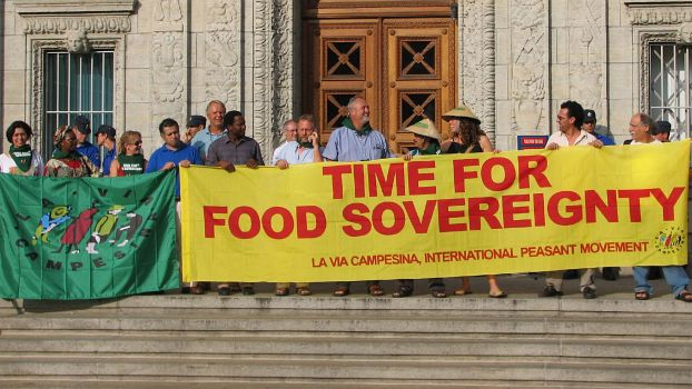 Time for Food Sovereignty