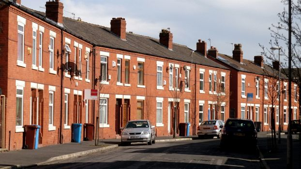 Edith Avenue in Moss Side, Manchester