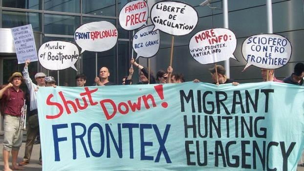 Institution der Grenze: Frontex