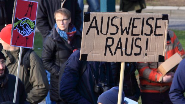 Demonstration Hamburg-Germany 31.1.2015
