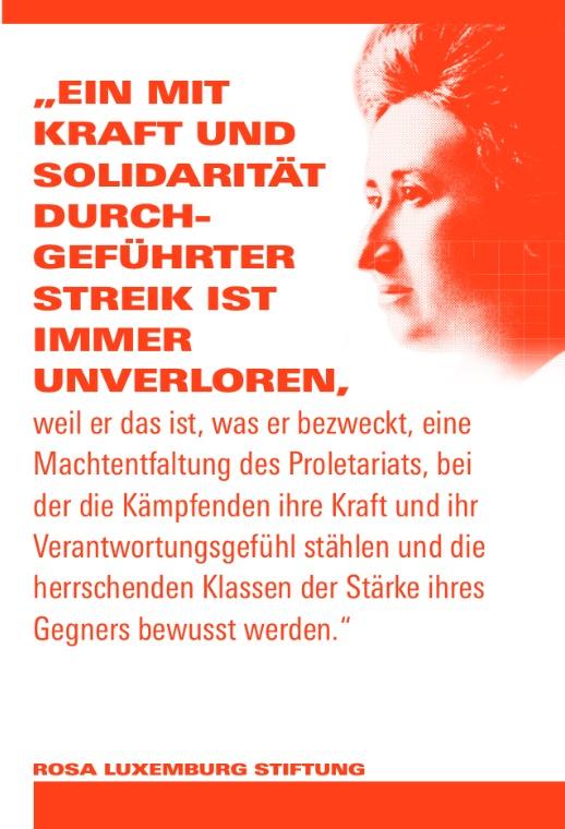 Zitat Rosa Luxemburg