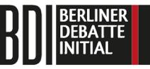 Logo Berliner Debatte Initial