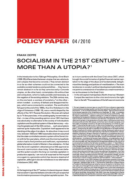 socialism in the 21st century politics essay In this lesson, we explore the competing political and economic ideologies that motivated many reform movements in 19th-century europe: liberalism and socialism.