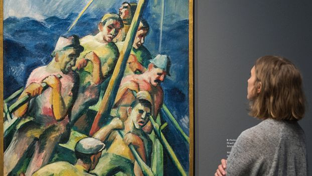 Künstler Hamburg ausstellung zu brücke künstler in hamburg rls